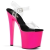 TABOO-708UV Neon Pink/Clear